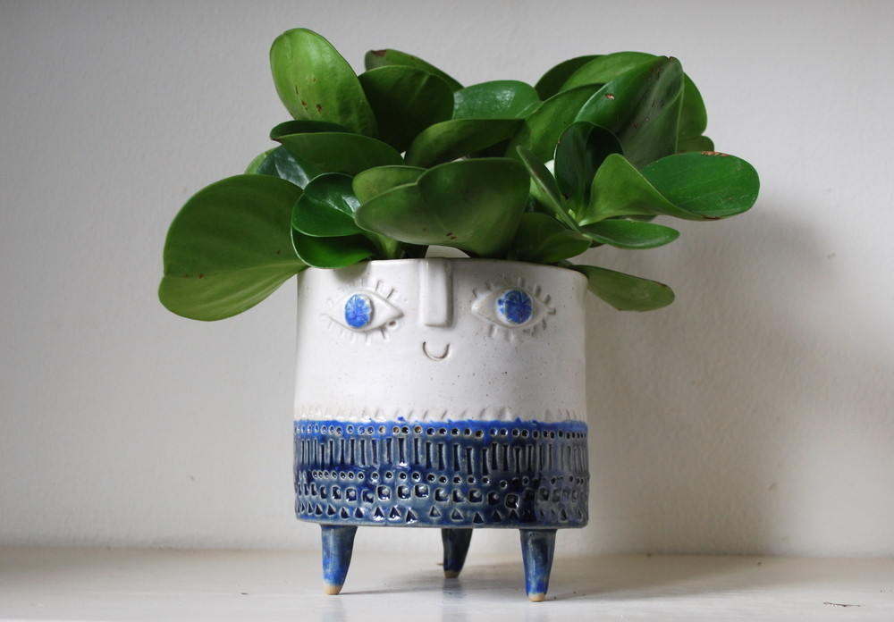 A Smiling Planter From Atelier Stella