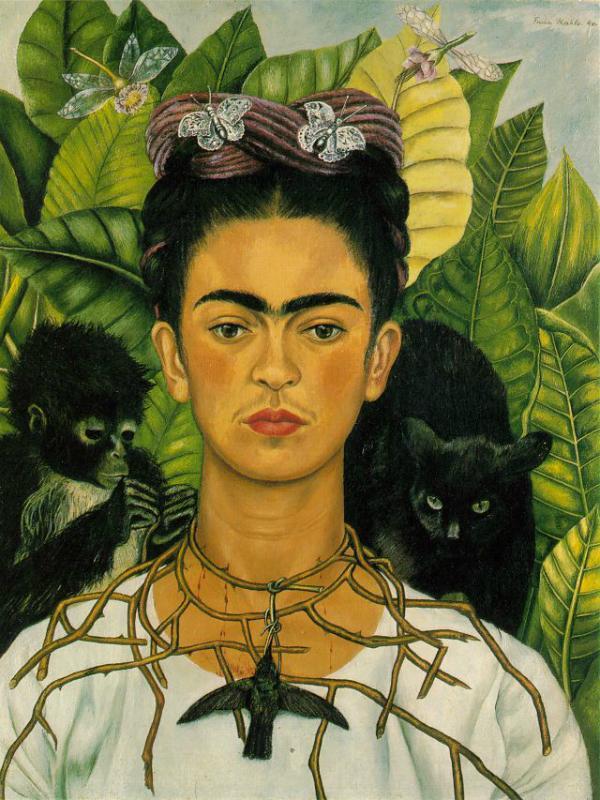 Frida Kahlo, the colourful icon from Mexico Thejoyofplants.co.uk